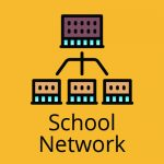 school network button
